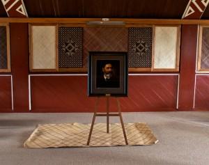 Wi Parata Print at Whakarongotai Marae
