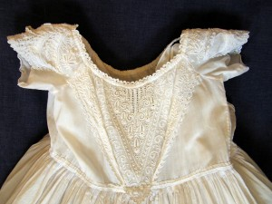 Port Christening Gown c1840