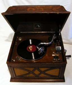 The Museum Gramophone - ask for a demonstration!