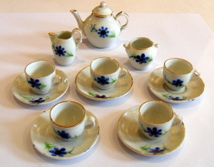 Child's toy tea set from the Port Collection.